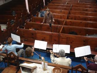 BLATNOVA - recording strings for The Dare Boogie