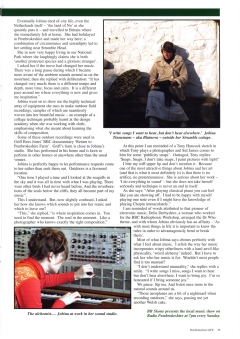 Pembrokeshire Life Magazine article, March issue, page 2